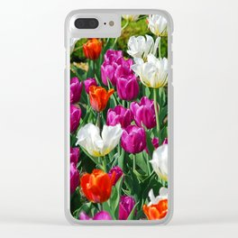 Flowers field Clear iPhone Case