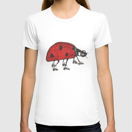 Ladybug Wearing Tap Shoes Gotta Dance T-shirt
