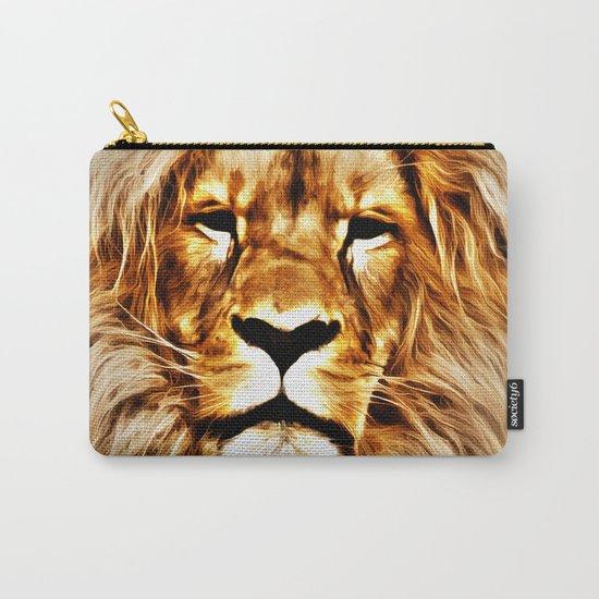 Lion Portrait Carry-All Pouch
