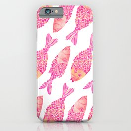 Indonesian Fish Duo – Pink Palette iPhone Case