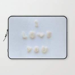 My noodles Loves You Laptop Sleeve