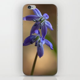 Wood Squill Flowers iPhone Skin