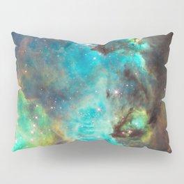 Green Galaxy Pillow Sham