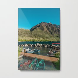Convict Lake and Mt. Morrison Metal Print