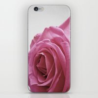 blush iPhone & iPod Skins featuring Blush by ALLY COXON