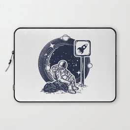 Astronaut in space Laptop Sleeve