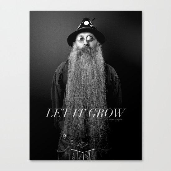 LET IT GROW Canvas Print