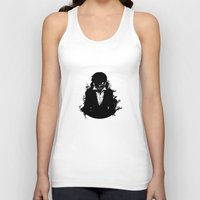 tokyo ghoul Tank Tops featuring Kaneki Tokyo Ghoul 3 by Prince Of Darkness