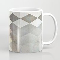 grunge Mugs featuring Grunge K7 by thinschi