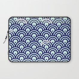Catch the Seigaiha (Wave) 1 Laptop Sleeve