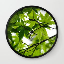 Kyoto Maple Wall Clock