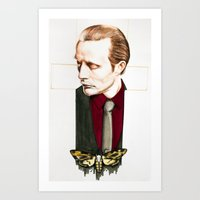 hannibal Art Prints featuring Hannibal by Caeruls