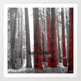 Lumberjack Art Print