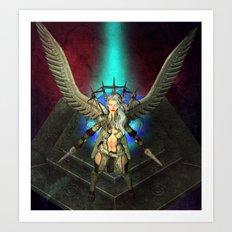 Guardian of the Light Art Print