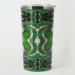 art retro pattern Travel Mug