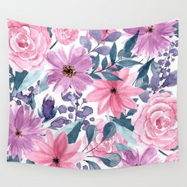FLOWERS XII Wall Tapestry