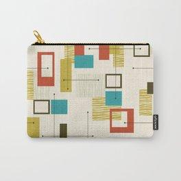Mid Century Modern, Sputnik Pattern Carry-All Pouch