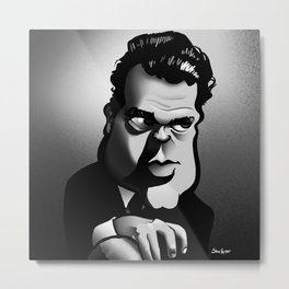 Citizen Welles Metal Print