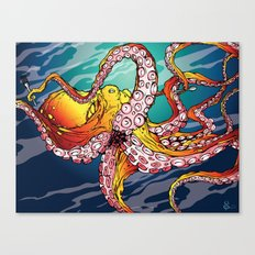 Tentacles & Utensils Canvas Print