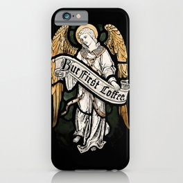 Holy Coffee iPhone Case