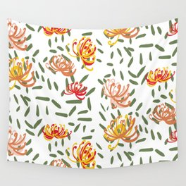 Wild Pincushion Pattern Wall Tapestry