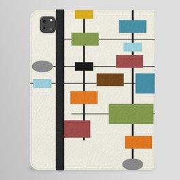 Mid-Century Modern Art 1.3 iPad Folio Case