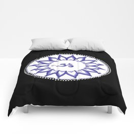 Ohm Flower Comforters