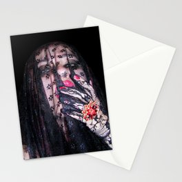 Nightmare Girl Stationery Cards