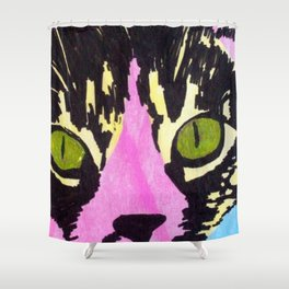 Pop Art Cat No. 1 Shower Curtain
