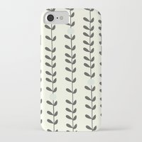 calendars iPhone & iPod Cases featuring Leaf by Shabby Studios Design & Illustrations ..