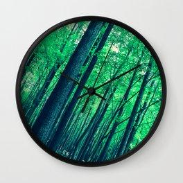 Spring Vertigo Wall Clock