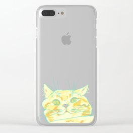 shook Clear iPhone Case