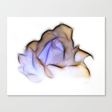 Inverted Rose Canvas Print