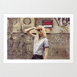 salute Art Print