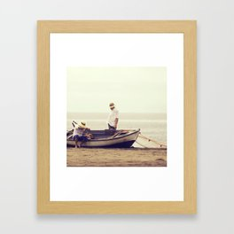 Noviembre Framed Art Print
