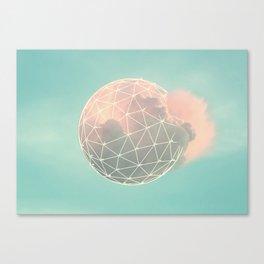 Nuvens 2 Canvas Print