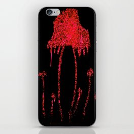 Shrooms Red iPhone Skin