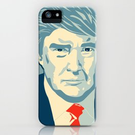 We the People Stand with Trump iPhone Case