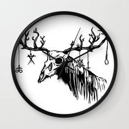 Wendigo by zombiecraig. Wall Clock