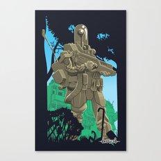 Robotic Warfighter MK.5D (devGrob) Canvas Print