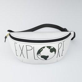 Explore the Globe x BW Fanny Pack