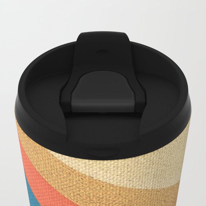 Direction Change Metal Travel Mug