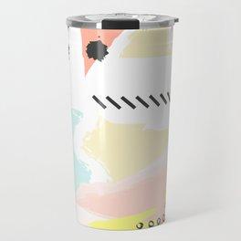 Modern Abstract Art Design Travel Mug