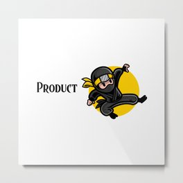 Efficient Product Manager Metal Print