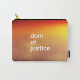 DOM OF JUSTICE Carry-All Pouch
