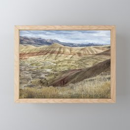 The HIlls are Alive with Color Framed Mini Art Print