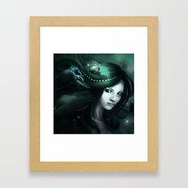 Daughter of the sea Framed Art Print