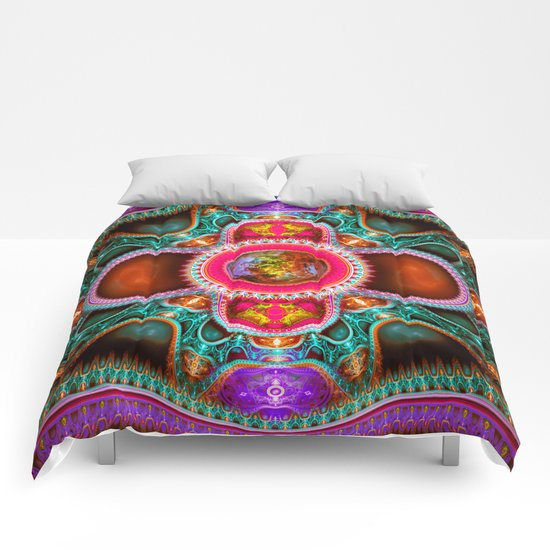 Time Space Portal Comforters