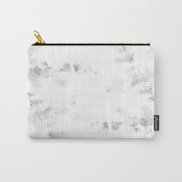 marble like abstract painting Carry-All Pouch