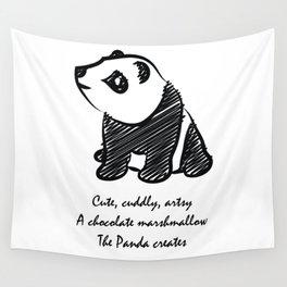 Gothic Panda  Wall Tapestry